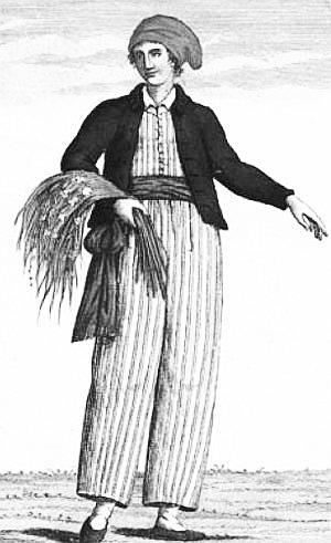 Jeanne Barret, compagne de Philibert de Commerson botaniste reconnu, a  été la première femme à boucler un tour du monde.  Ce texte, pour rendre hommage aux premières femmes voyageuses qui ont bravé les interdits, nous ouvrant ainsi les chemins qu'il nous est donné de suivre.