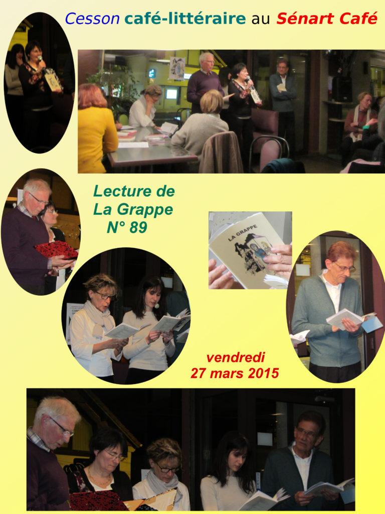 En bas de g.à d. : Dominique Laronde, Colette Millet, Brigitte Daillant, Sandra Sozuan, Jean-Jacques Guéant. Montage photos : Catherine Guéant